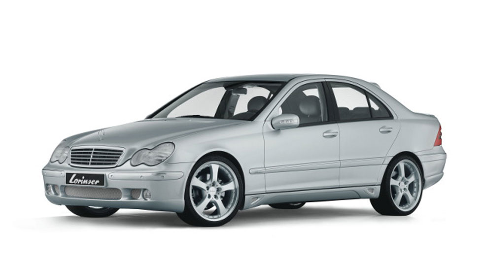 The lorinser c class w203 saloon for Mercedes benz c class w203