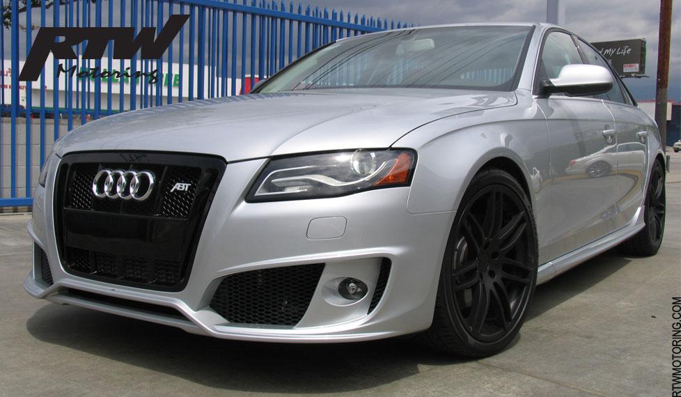 Audi A4 Abt Ice Silver Metallic 8k