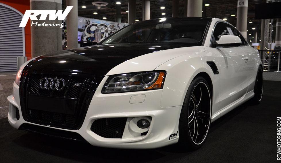 Land Rover Sport >> Audi A5 - ABT - Ibis White I - 8T