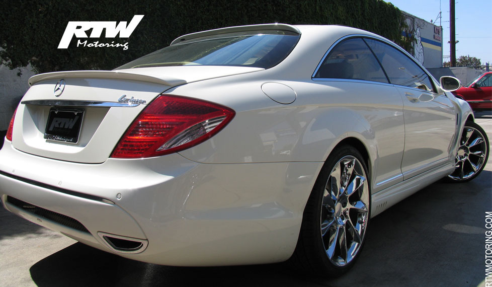 Mercedes benz cl 550 lorinser white i c216 for Mercedes benz lorinser for sale