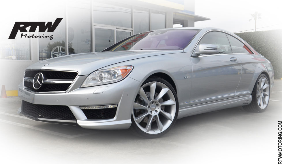 The Lorinser/AMG Mercedes Benz CL 600 Silver