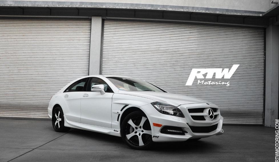 Mercedes Benz Cls 550 Lorinser Diamond White Metallic