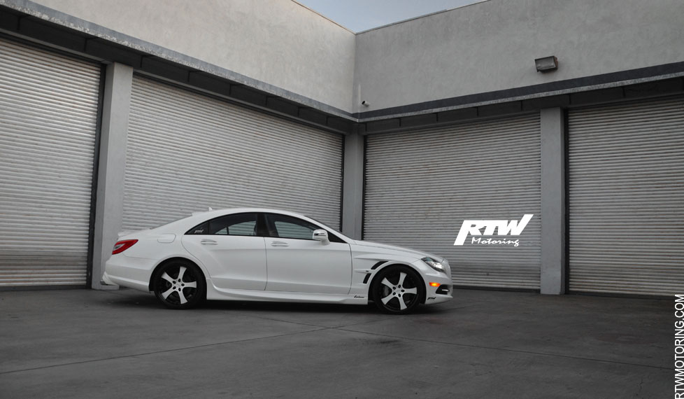 Mercedes Benz Cls 550 Lorinser Diamond White Metallic