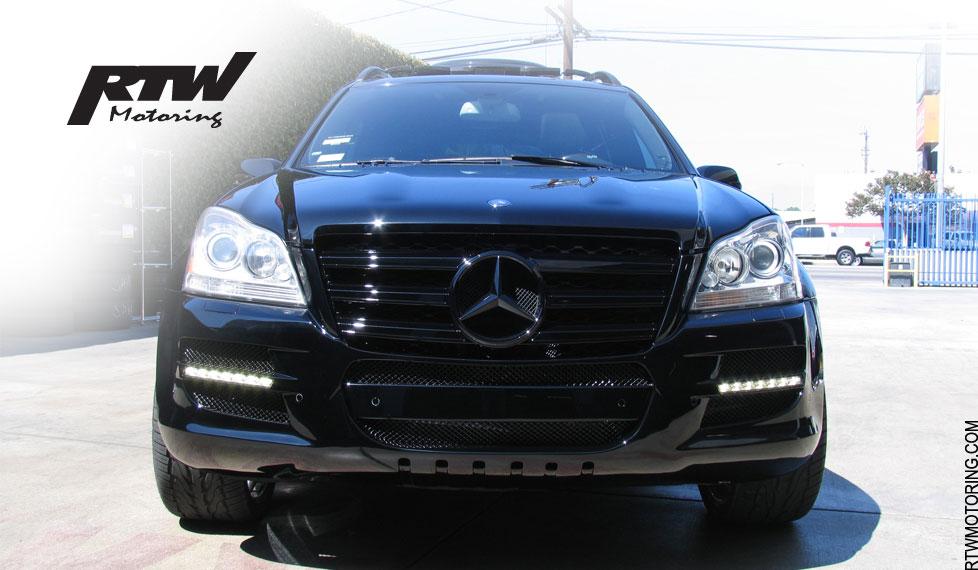 Mercedes Benz Gl 450 Lorinser Black X164