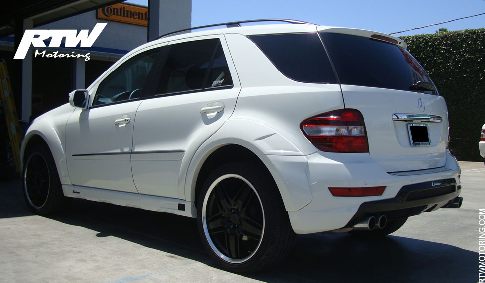 Mercedes Benz Ml 350 Lorinser White W164