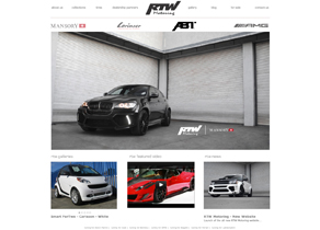 RTW Motoring - New Website