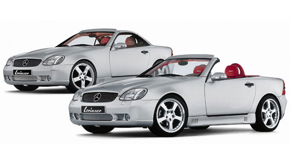 The Lorinser Slk Class Roadster R170