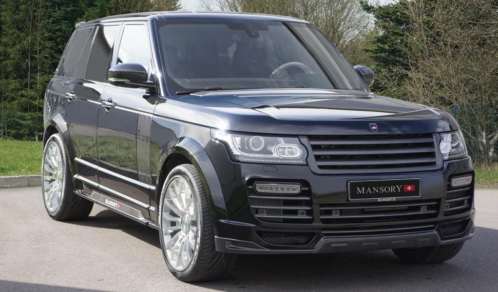 The Mansory Range Rover L405 Vogue MK IV