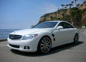 The Lorinser Mercedes Benz CL 550 White III