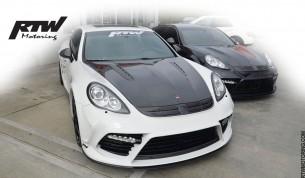 Black & White - Porsche Panamera Turbo Models - Mansory